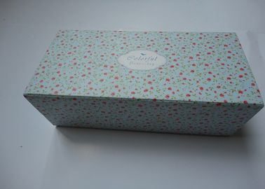 Custom Daily Products Packaging Boxes , Recycled Paper Gift Packing Box
