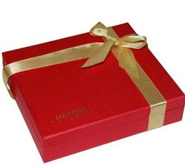 Eco Friendly Custom Christmas Paper Gift Boxes With Lids SGS QS Certified